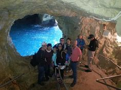 Private Family Tour at the Rosh Hanikra Caves with the Tour Guide Reuven Reggev.http://www.ibookisrael.com/guide/reuven-reggev