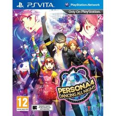 Persona 4 Dancing All Night PS Vita | http://gamesactions.com shares #new #latest #videogames #games for #pc #psp #ps3 #wii #xbox #nintendo #3ds