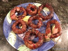 Smoked Bacon Onion Rings pellet grill recipe BBQ smoker