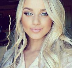 Love this summer makeup look