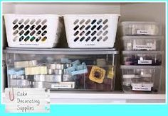 Cake Decorating Equipment Storage : 1000+ images about Cake Decorating Storage on Pinterest ...