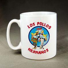 Los Pollos Hermanos Breaking Bad Mug  by NAPcoByPutri on Etsy