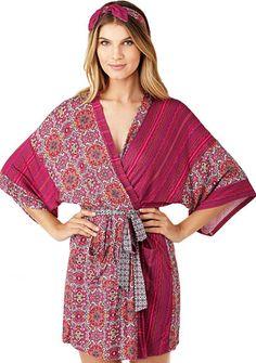 Layla® Wrap Robe with Headband