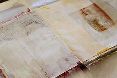Turn a book into an art journal