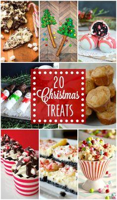 20 Christmas Treats - so festive, cute, AND tasty!! { lilluna.com }