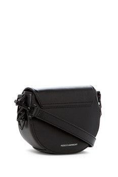 Rebecca Minkoff Small Astor Leather Saddle Bag