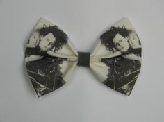 Edward Scissorhands Inspired Hair Bow by PigtailsnCurls on Etsy