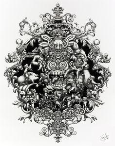 The Joyriders - 2011 by Joe Fenton (Graphite Only)