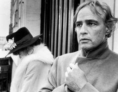 Maria Schneider and Marlon Brando in Last Tango in Paris by Bernardo Bertolucci, 1972