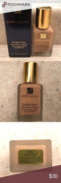 Brand New Liquid Foundation. Etee Lauder Double Wear Stay-in-Place Makeup. Brand new. For All Skin types. Estee Lauder Makeup Foundation