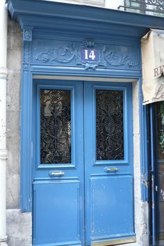 Blue door, one of many, always as beckoning, by Rebecca Watson Photography