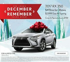 Letu0027s Start The New Year With A Bang! The #LexusRX Delivers Superior  Performance,