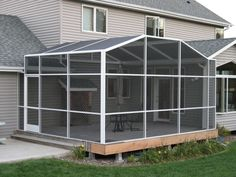 Full Porch Enclosures – North Star Screen Systems