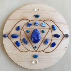 -6th Third Eye Chakra-Crystal Grid