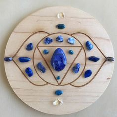 -6th Third Eye Chakra-Crystal Grid