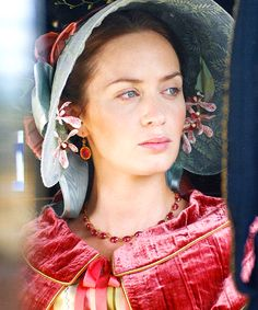 """""""A marriage is no amusement but a solemn act, and generally a sad one"""" - Queen Victoria of England   Photo of Emily Blunt from The Young Victoria (2009)"""