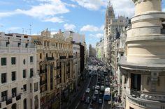 La Gran Vía, Madrid #madrid #turismo #viajes #travel