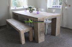 Steigerhouten tafel ORIGINAL - ECO Steigerhout | Steigerhouten meubels voor de scherpste prijs!