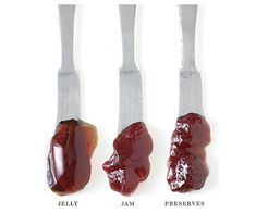 The difference between Jelly, Jam and Preserves - from FineCooking.