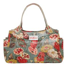 Autumn Bloom Day Bag | Bestsellers | CathKidston OMG I LOVE THIS PATTERN! The color combo is amazing.