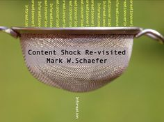Content shock re-visited, the content marketing myths and realities Marketing Plan, Content Marketing, Social Media Marketing, Social Business, Inbound Marketing