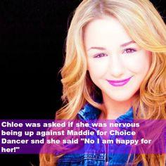 Chloe is SO sweet okay I might want Chloe for choice dancer Dance Moms Memes, Dance Moms Comics, Dance Moms Funny, Dance Moms Facts, Dance Moms Dancers, Dance Mums, Dance Moms Girls, Group Dance, Show Dance