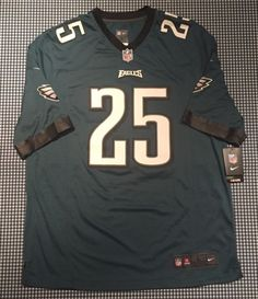 7283bc3c3 NWT LeSean McCoy Philadelphia Eagles On-Field Nike Replica Jersey Size  Large NFL