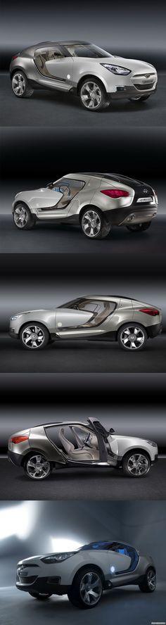 Hyundai HED-4 Qarmaq Concept (2007) Concept car From #JimClickAuto
