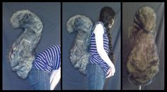 Freestanding Squirrel Tail Prototype - PENDING by shagpokestudios