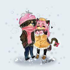 aww, this is gorgeous Aphmau Characters, Minecraft Characters, Cute Characters, Zane And Kawaii Chan, Zane Chan, Anime Couples Drawings, Anime Couples Manga, Aphmau My Street, Aphmau Youtube