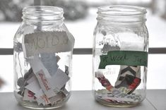 Word Collection Jars #writing #kids