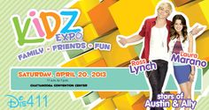 Laura Marano And Ross Lynch Will Be In Chattanooga, Tennessee, April 20, 2013