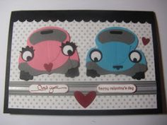 Stampin' Up! Australia - Sue Mitchell: Stampin' Up Punch Art Cars, birthday, father's day & valentine.