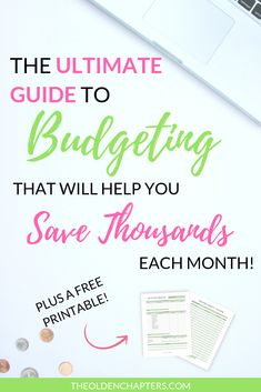 Budgeting How to Create and Stick to A Budget - The Olden Chapters - Finance tips, saving money, budgeting planner Budgeting Finances, Budgeting Tips, Ways To Save Money, Money Saving Tips, Saving Ideas, Money Tips, Budget Tracking, Apply For Student Loans, Spending Tracker