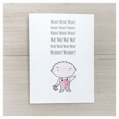 Gifts for everyone on your list birthday greeting cards birthday mothers day greeting card birthday card for mom family guy stewie lois cards m4hsunfo