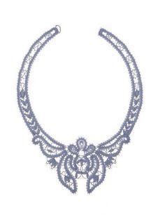 Можно заказать у нас Lace Necklace, Lace Jewelry, Bruges Lace, Bobbin Lacemaking, Bobbin Lace Patterns, Lace Heart, Point Lace, Lace Making, Wire Art