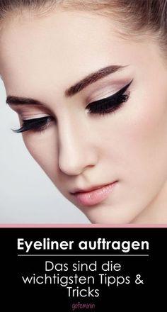 Schluss mit Panda-Augen: Eyeliner auftragen - so geht's ganz leicht! Jetzt auf gofeminin.de  #gofeminin #beauty #eyeliner
