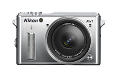 Nikon 1 AW1 14.2 MP HD Waterproof, Shockproof Digital Camera System with AW 11-27.5mm f/3.5-5.6 1 NIKKOR Lens (Silver) - http://bestcamerasforphotography.bgmao.com/nikon-1-aw1-14-2-mp-hd-waterproof-shockproof-digital-camera-system-with-aw-11-27-5mm-f3-5-5-6-1-nikkor-lens-silver/
