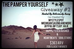 Pamper Yourself Giveaway 06/05