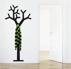 Árbol colgador || http://www.myvinilo.com/vinilos-decorativos-percheros-3d/vinilo-perchero-arbol.html