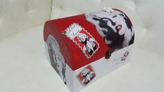 caja personalizada de Marilyn