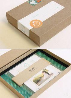 Packaging para regalar fotos.
