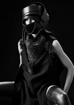 Barbara Í Gongini   Macabre   goth   dark fashion   high end   editorial   obscur