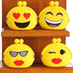 Faces Smile Pattern Funny Cute Smiley Expression Leather Zipper Clutch Bag Wallet Large Capacity Long Purse For Women Customized