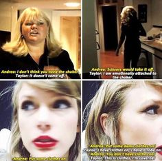 Andrea getting sassy and Taylor getting sassier 😂 Taylor Swift Meme, Taylor Swift Fan Club, Long Live Taylor Swift, Taylor Alison Swift, Celebs, Celebrities, Role Models, My Idol, Queens