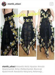 Meus vestidos Beautiful Black Dresses, Beautiful Outfits, Mode Russe, Simple Dresses, Summer Dresses, Bandana Design, Summer Dress Patterns, Fashion Sewing, Indian Designer Wear