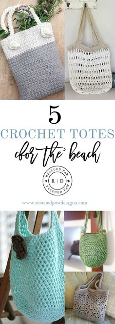 Beach Friendly Crochet Tote Patterns