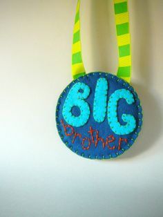 Perfect for Wyatt's Big Brother bag