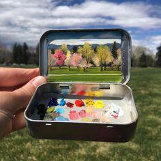 """6,722 Me gusta, 49 comentarios - Heidi Annalise (@heidi.annalise.art) en Instagram: """"Breaking news: gorgeous spring weather is BACK!  Resume park-sprawling leisure activities. . . .…"""""""