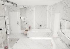 """INGEMA s.r.o. on Instagram: """"Pre niekoho chladné, pre iného elegantné 🛁 ďalšia z našich vizualizácii✍🏻 #bathroom #ingema #inspiration #bathroomdesign"""" Bathrooms, Bathtub, Pretty, House, Instagram, Standing Bath, Bathtubs, Bathroom, Home"""